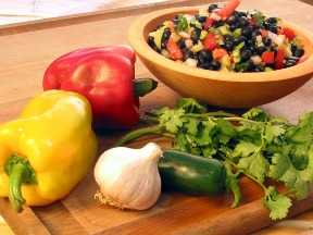 Black Bean Salad by Frank M Chillemi