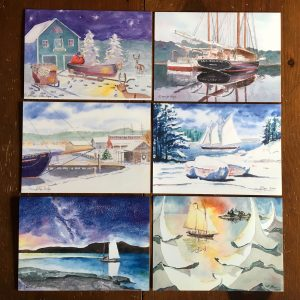 Capt Jon Finger Nautical Holiday Cards