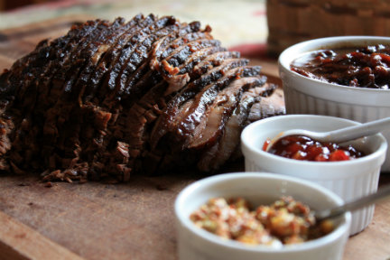 Chili Rubbed Pot Roast from Sugar & Salt by Annie Mahle