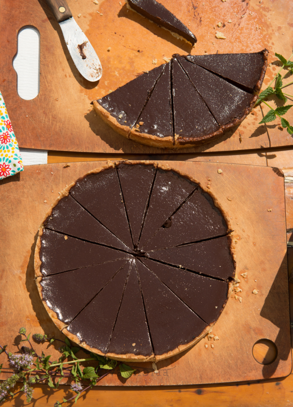 Chocolate Tart Photo by Douglas Merriam