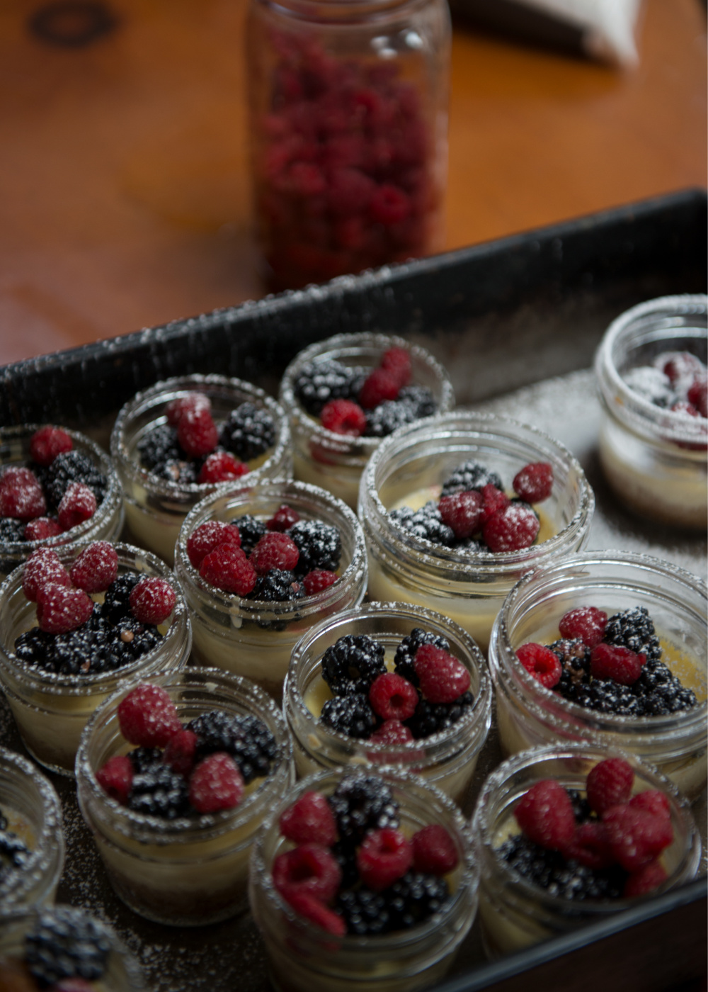 Fresh Berry and Vanilla Crème brûlée Photo by Douglas Merriam