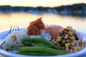 Dinner With a View By Elizabeth Poisson