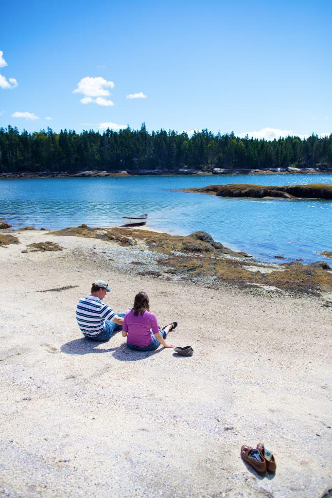 Maine beach photo: Ben Krebs