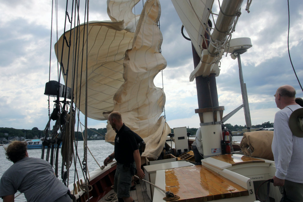 maine windjammer race week