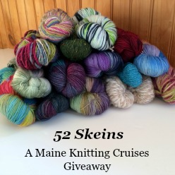 52 Skeins - A Maine Knitting Cruise Giveaway