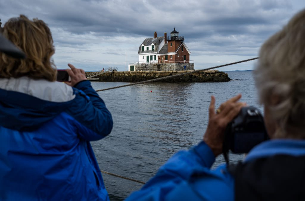 Rockland Breakwater Lighthouse photo: Ben Krebs