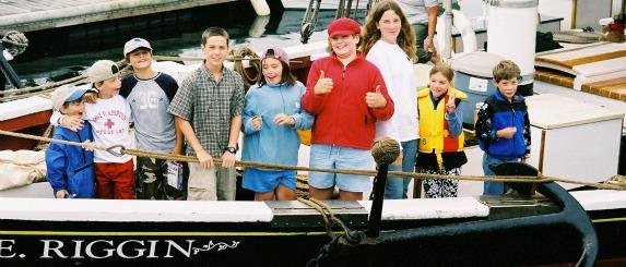Kids & Family Sailing Trip