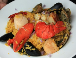 Lobster Paella by Rocky Coast Photography