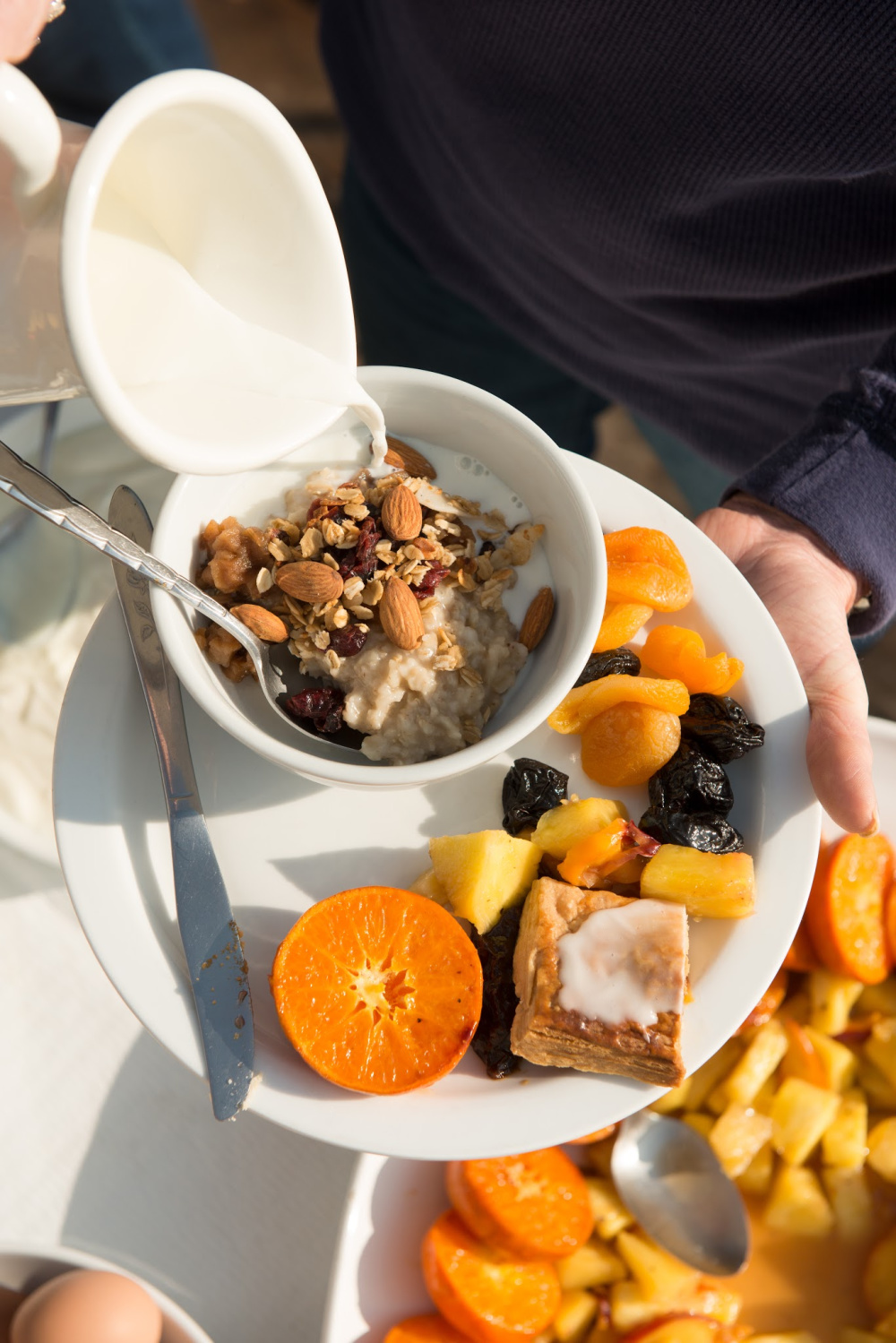 Oatmeal Breakfast with Dried Fruit Photo by Douglas Merriam