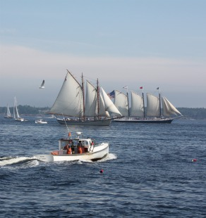 Directions To Rockland Maine And The Schooner J Amp E Riggin A Maine Windjammer Maine Windjammer