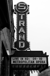 Strand Cinema Rockland Maine by Rocky Coast Photography