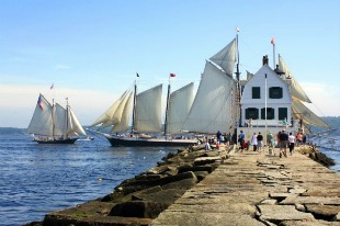 Windjammer Parade by Rocky Coast Photography